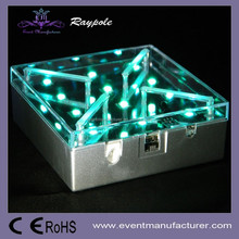 4 inch remote control 16 color changing LED base light frozen party suplies for party decoration