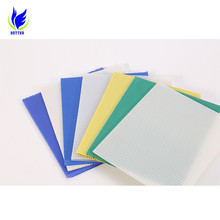 Waterproof Wholesale pp plastic big polypropylene hollow sheet