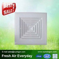 Air conditioning decorative vent covers plastic ceiling air vents