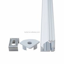 High quality extrusion triangle aluminum profile for kitchen and cabinet lighting