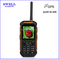 Factory Rugged Mobile sos phone X6 IP67 Waterproof gps walkie talkie anti-shock cheap android phone no camera