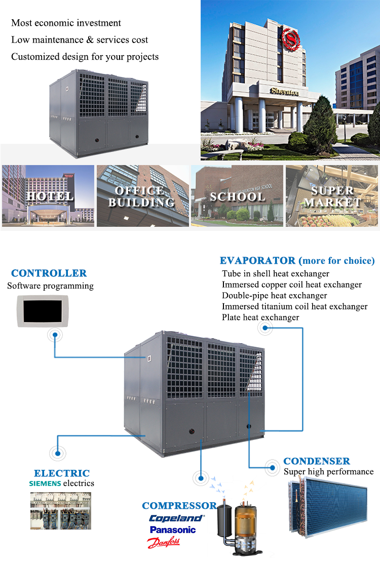 ODM/OEM chilled glycol water chiller system