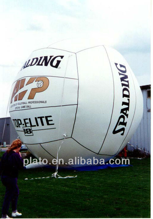 giant inflatable beach volleyball for advertisment