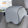 BYC Car Seat Neck Pillow 100 Cotton And Polyester Fiber Cover Pillow