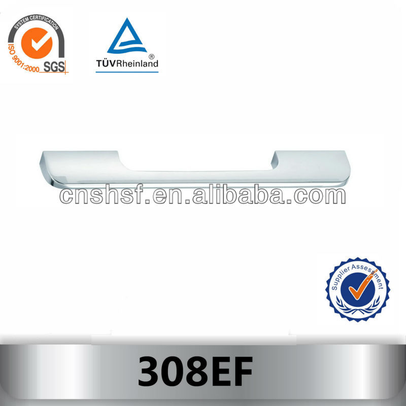 HOT SALE extruded aluminum drawer pull 308EF