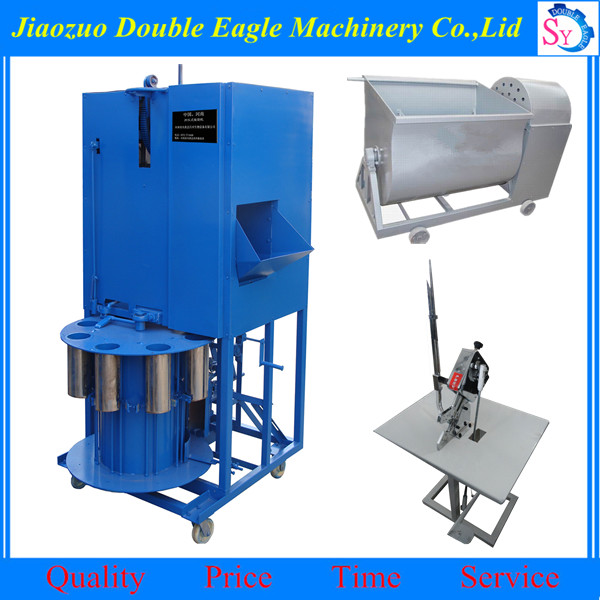 complete mushroom planting equipment/ fungus plastic bag packing machine