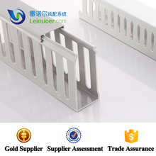 Top selling non-split slotted wire&cable duct/trunking