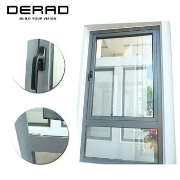 DERAD 60 Series Outwardly Open Aluminium Thermal Break Cost Effective Window