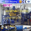 waste plastic bottle recycling machine for HDPE material