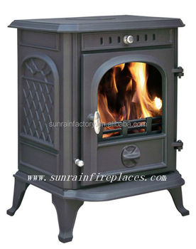 steel plate stove/ cast iron wood burning stove(JA070)