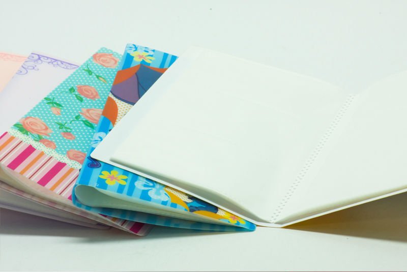 120P factory wholesale business card holders pp