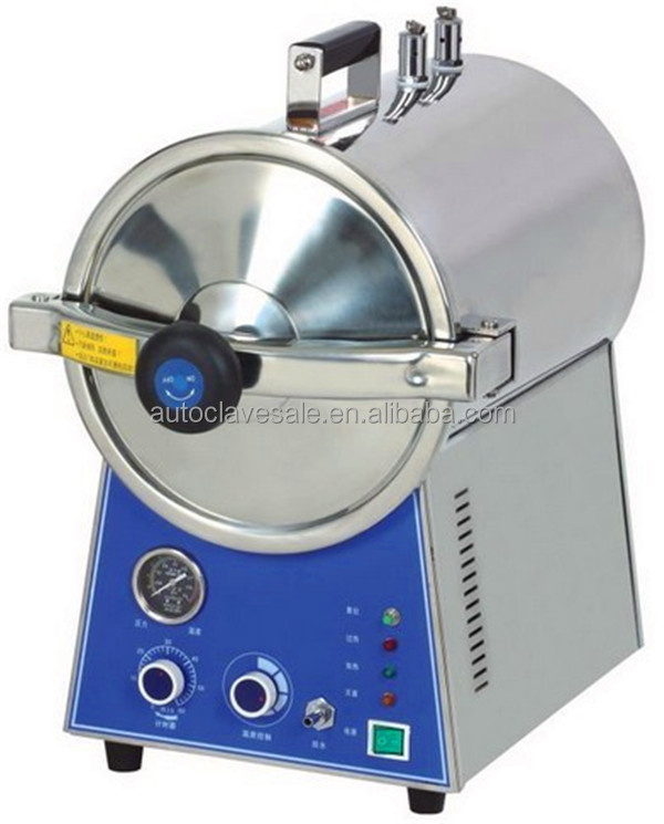 Bluestone Diagram of Autoclave Machine With Fully Stainless Steel Structure