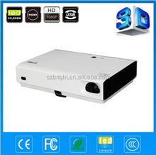 laser light led projector 2500-3800 lumens high native resolution 1280x800