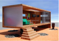 1x40 feet wooden container house