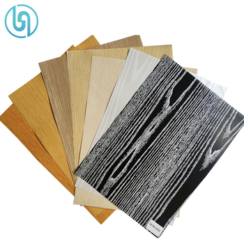 PET Wood Grain Hot Stamping Printing Foil For MDF Furniture Board
