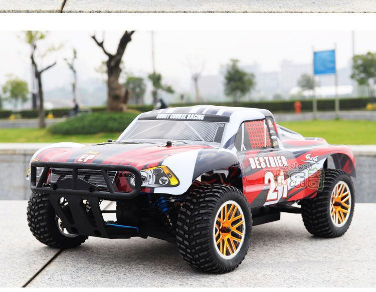 Electric Rally Car HSP 94170 Pro 1:10 Electric 4WD RC Monster Truck