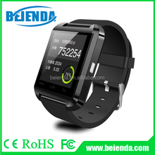 Bluetooth Smart WristWatch U8 U Watch for Samsung S4/Note 3 HTC Android Phone Smartphones - Black
