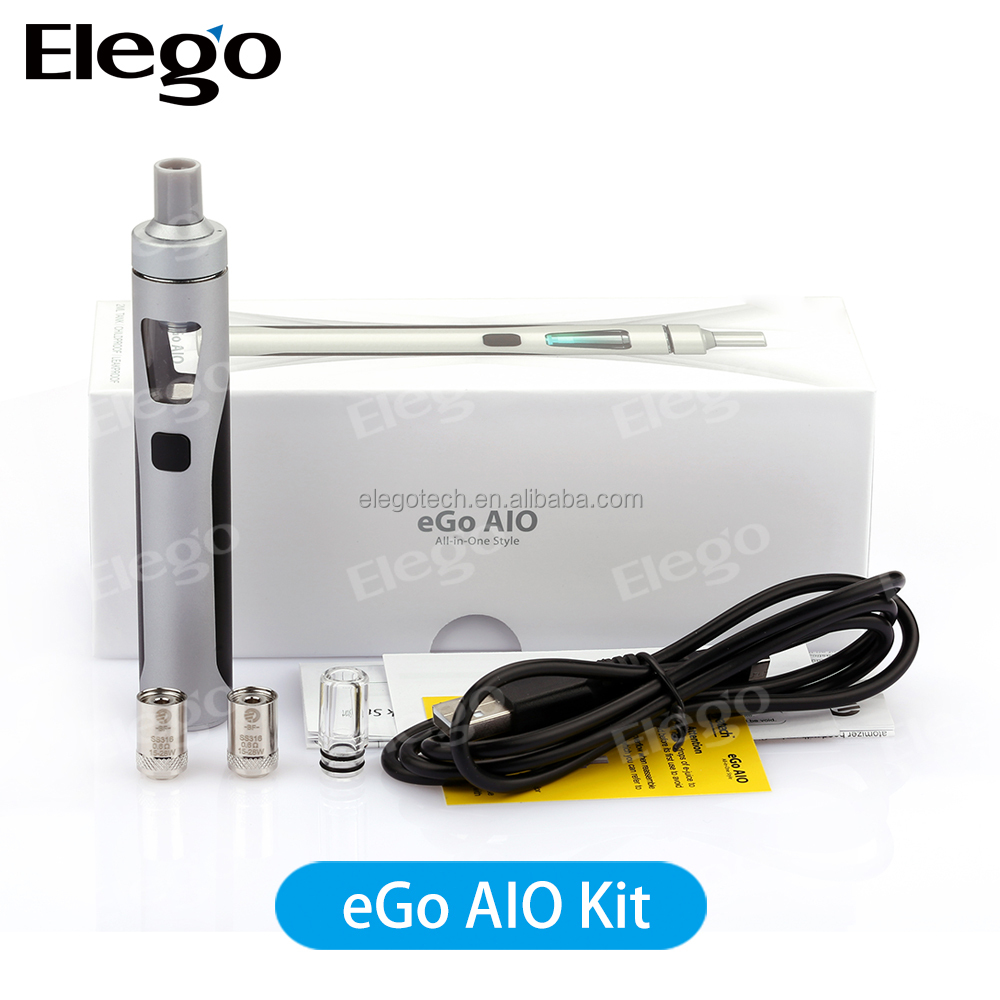 Large Stock Newest Joyetech eGo AIO, 2016 Joyetech eGo All In One / Genuine Joyetech Wholesale