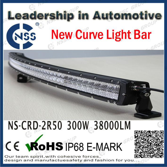 96w hid motorcycle led driving light 2R 50inch