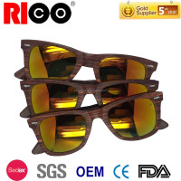 2015 cheap wooden sunglasses wholesale in china