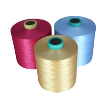 dope dyed polyester dty 150d/144f yarn high filament yarn