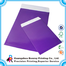 Wholesale OEM Printing Creative Wedding Shipping Envelope Designs