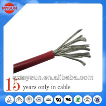 Silicone insulated copper wire for circuit