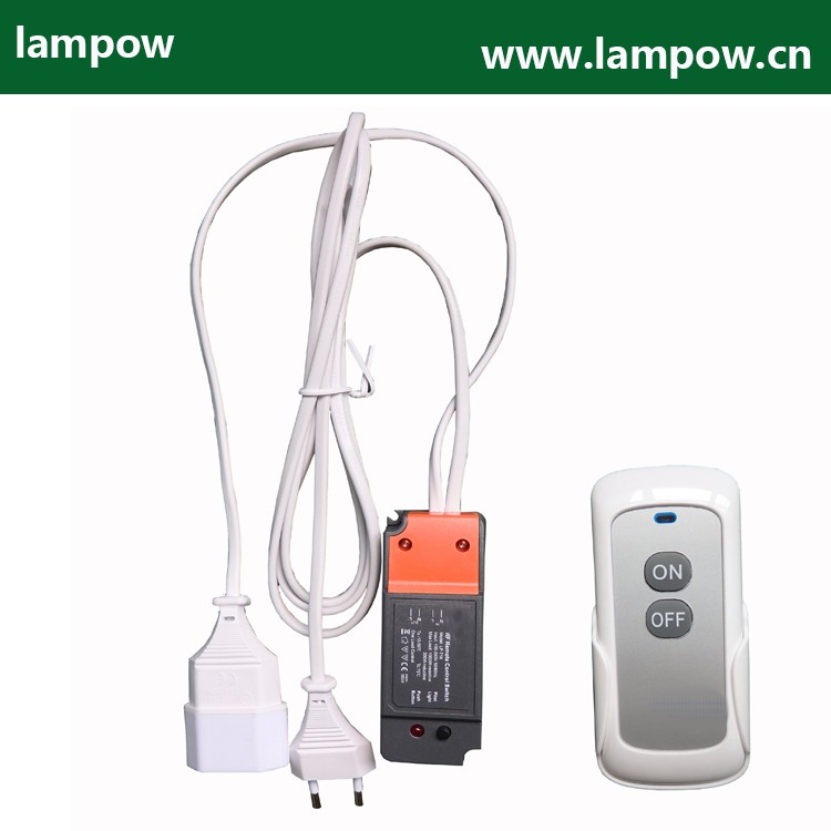 LP-T1K learning code AC remote control switch for lighting 2 channel 220V