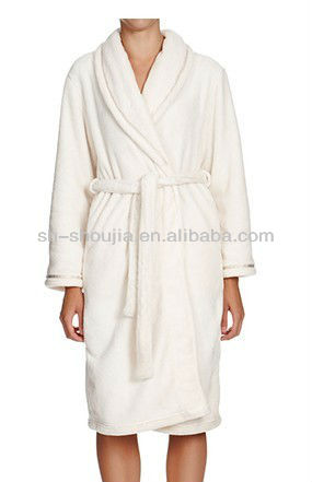 ladies winter robe Hotel coral bathrobes 2013 new design long gown ladies night dresses sleepwear