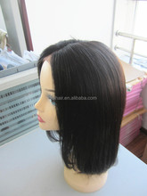 Hair Factory Large Stock Wholesale Price short brazilian hair full lace wig
