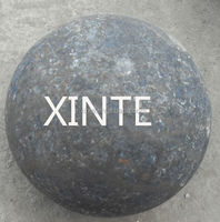 forged steel grinding ball with B2 B4 materials for ball mill