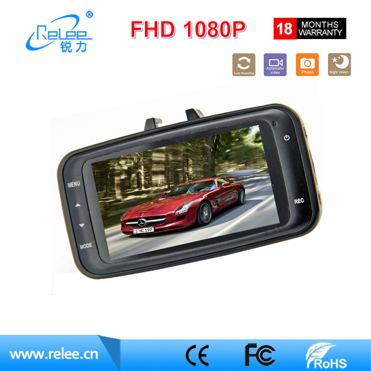 New arrival car camera dash cam hd 1080p night vision car driving camera