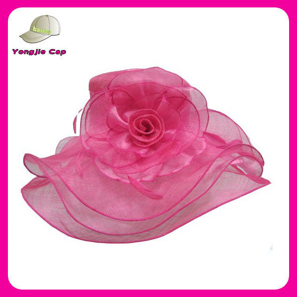 100% Sinamay wedding and church hats for ladies small order