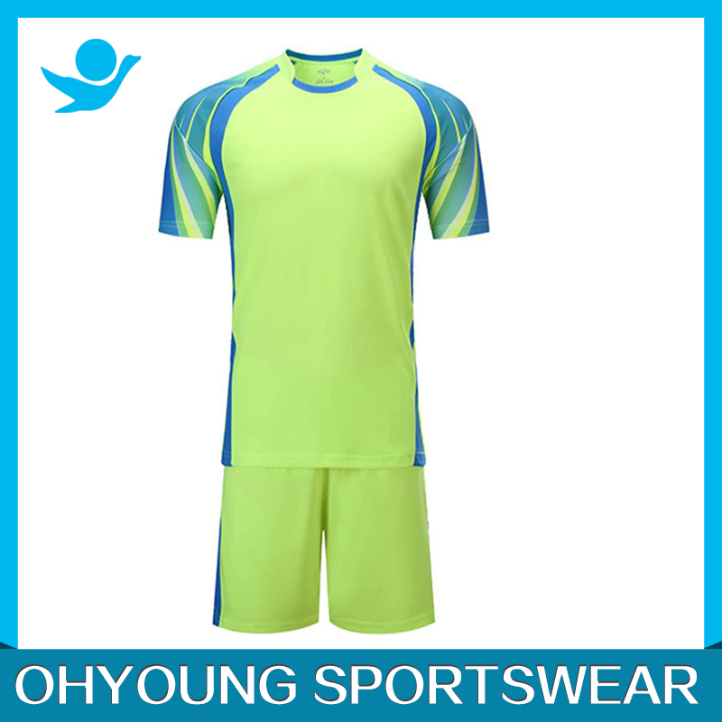 Club football jersey/custom soccer uniform sets/ soccer uniforms