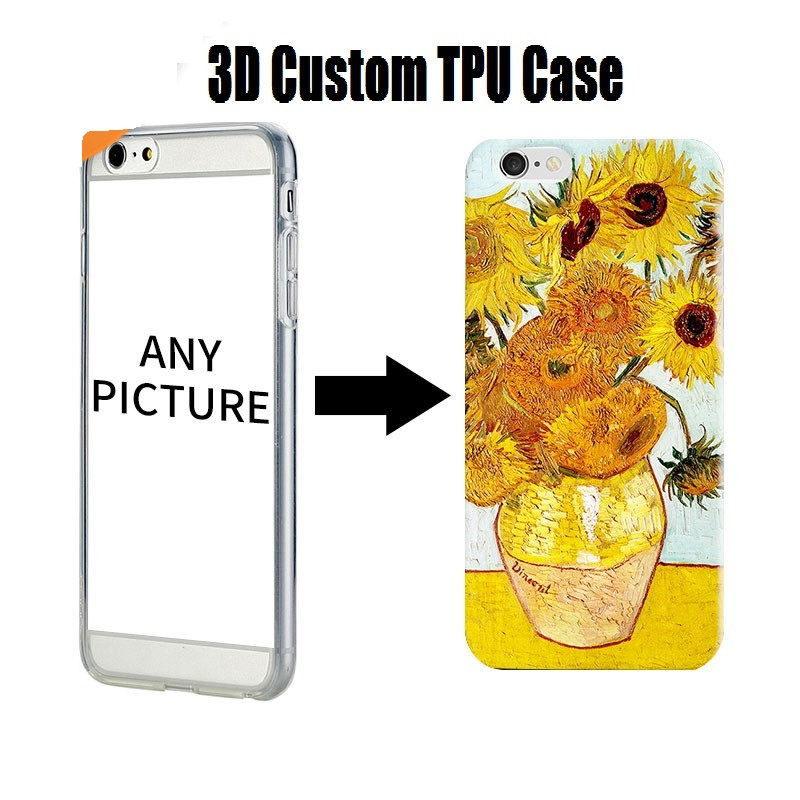 Custom Printed Blank PC TPU Mobile Covers UV Printing Print Phone Case For iPhone 5 Se 6 7