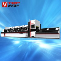 CNC Metal Pipe Laser Cutter For Steel Structure