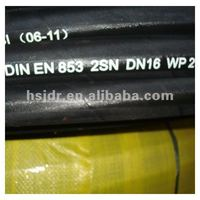 Two Layers Steel Wire Braid Rubber Hose SAE 100R2AT---JDE