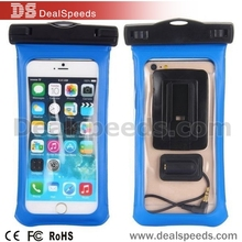 IPX8 Standard Armband Waterproof Bag Cover with Detachable Neck Strap for iPhone 6 Plus/for iPhone 6 Headphone