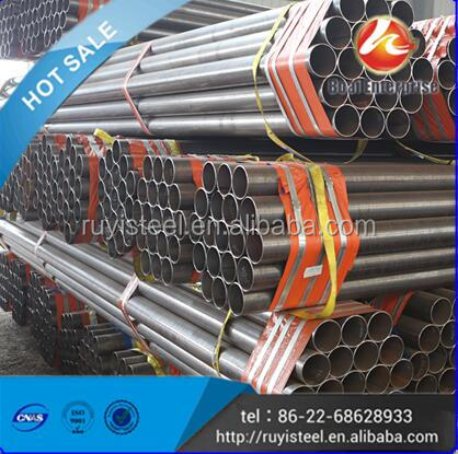 high quality carbon steel pipe price list for pipeline for low pressure liquid delivery