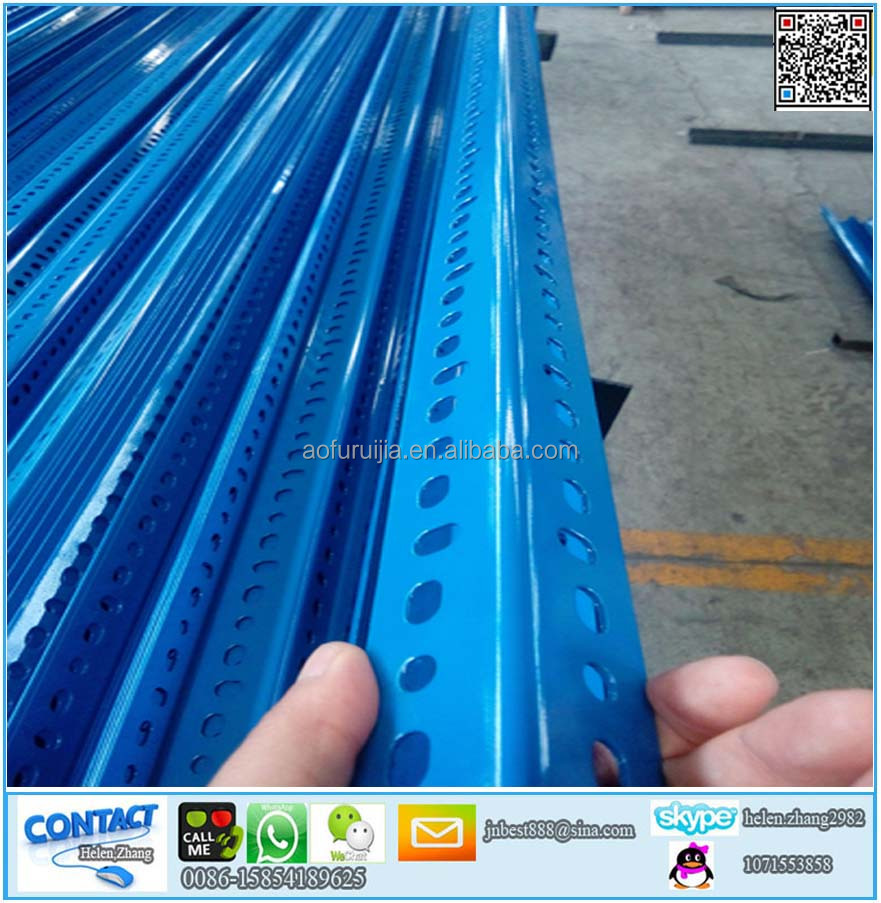 Blue Color Dexion Design Factory Slotted