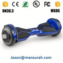 2016 Shenzhen Hight quality UL certification 6.5 inch 2 wheel hoverboard big tire mini smart self balance scooter