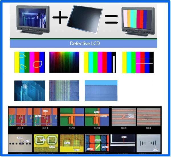 LCD screen laser repair machine TV screen laser lcd repair machine zm-l80 for repair 4k tv lcd screen