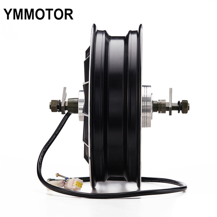 13 Inch 3000W 72V High Power Brushless Gearless E-Scooter In-Wheel Hub Motor
