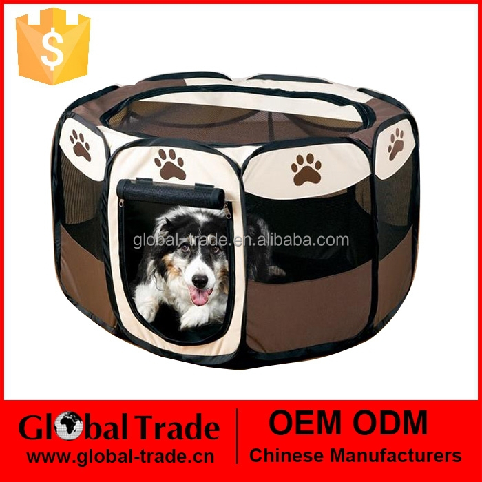 Pet Fence 60*35.5cm Dog Kennel Pet Fence Puppy Soft Playpen Exercise Pen Folding Create 450088
