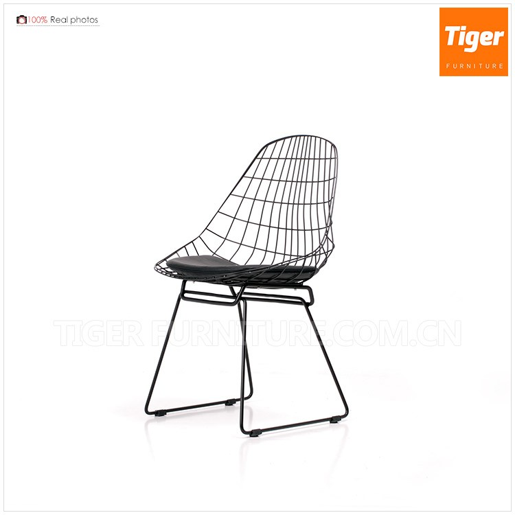 Furniture Luxury wholesale full welded wire comfortable chair