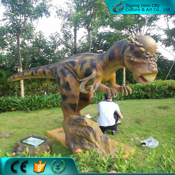 Life Size Funny Moving Robotic Dinosaur Animations for ZiGong