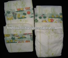 PE Film Disposable Baby's Printed Diapers for Sale