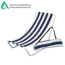 Cheap Detachable Canvas Steel Folding Ultralight Beach Lounge Chair with Carry Bag