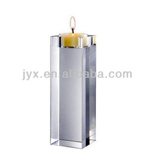 transparent handmade church acrylic candle stand/holder