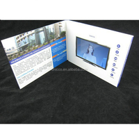 Quality products video playing card new product launch in china